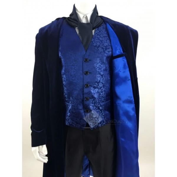 12th Doctor Velvet Coat Full Set Doctor Who Christmas Special Costume