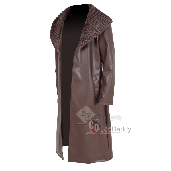 Star Trek Into Darkness Khan Noonien Singh Overcoat Cosplay Costume