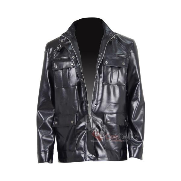 I Am Legend Cosplay Robert Neville Same Style Black Jacket