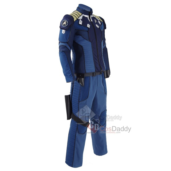 Star Trek Beyond Captain Kirk Commander Battle Suit Man Adult Halloween Cosplay Costume