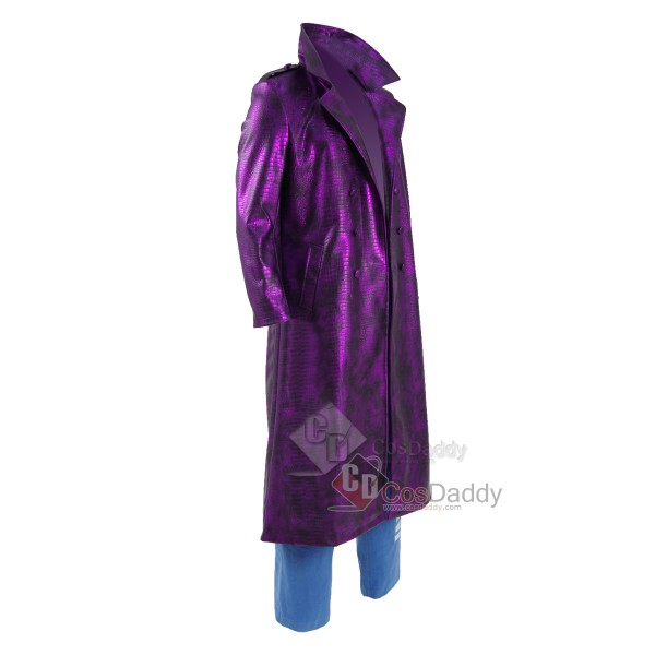 Suicide Squad Joker Purple  Cosplay Costume (Jacket,Pants)