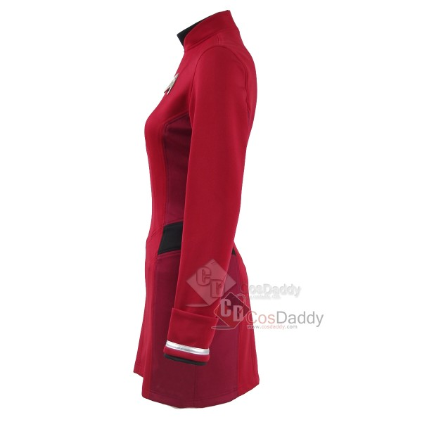 Star Trek Beyond Uhura Engineer Crewman  Red Dress Uniform