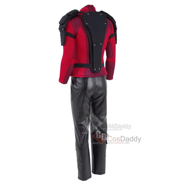 Suicide Squad Deadshot Floyd Lawton, Jr Outfit Cosplay Costume