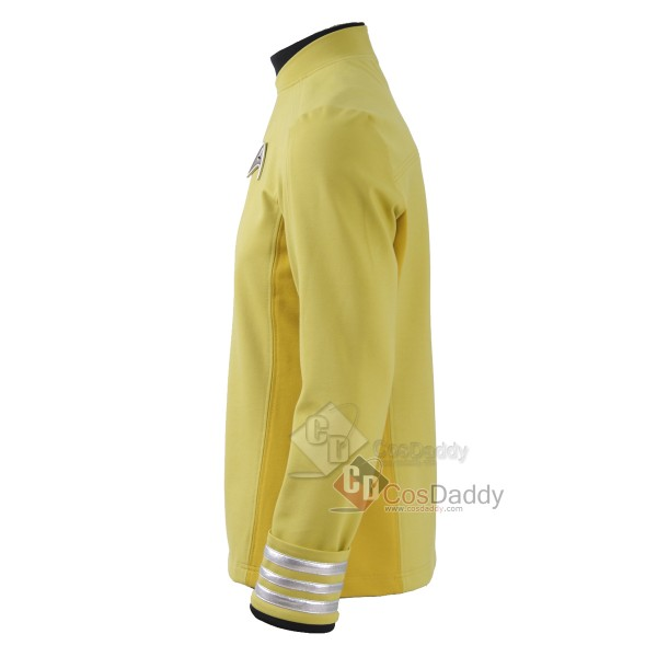Star Trek Beyond Captain Kirk Sulu Yellow Shirt  Commander Uniforms