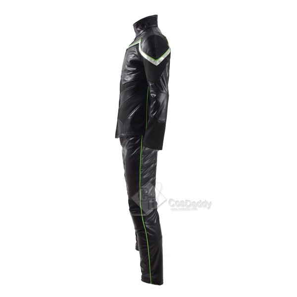 CosDaddy 2016 New Hancock Cosplay Costume Jacket&Pant&Shirt for Halloween&Christmas