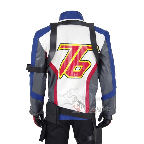 Overwatch Soldier: 76 Cosplay Costume Full Set Outfit