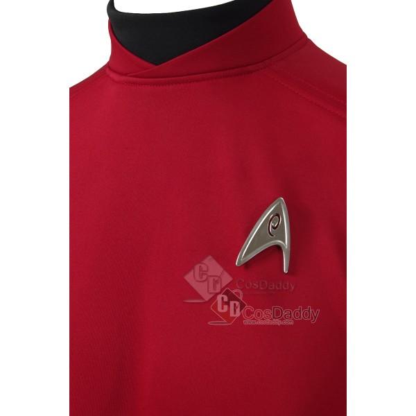 Star Trek Beyond Red Shirt Tops Jacket Scotty  Officer Uniforms