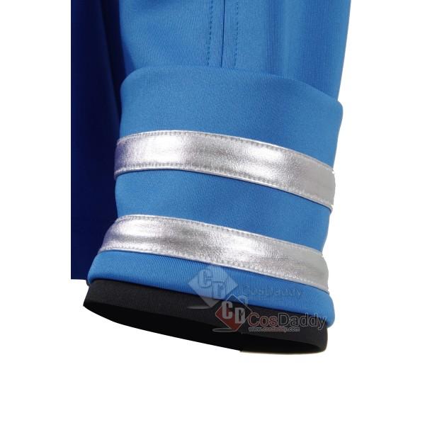 Star Trek Beyond Spock Cosplay Costumes Blue Shirt badge Jacket Tops New 2016 Halloween Officer Uniforms