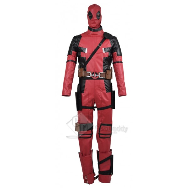 Marvel Comics Deadpool Wade Wilson Cosplay Costume...