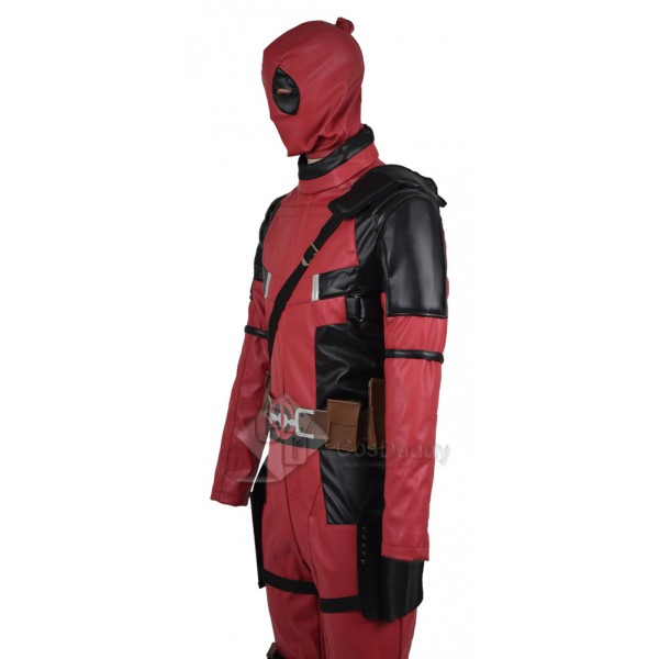Marvel Comics Deadpool Wade Wilson Cosplay Costume Whole Set In 2016 Film