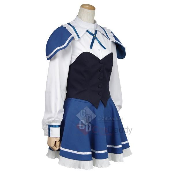 Absolute Duo Julie Sigtuna Blue Dress Uniform Cosplay Costume