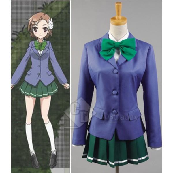Accel World Chiyuri Kurashima School Students Cosplay Costume