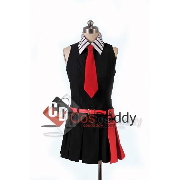 Akame Ga KILL!Night Raid Red Pupil Uniform Cosplay Costume