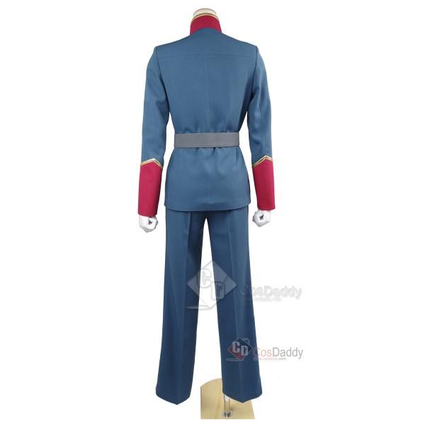 Aldnoah Zero Slaine Troyard Uniform Cosplay Costume