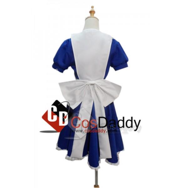 Alice Madness Returns Alice Maid Uniform Dress Cosplay Costume