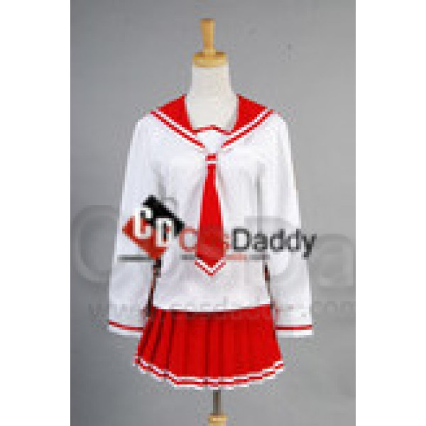 Aria the Scarlet Ammo Aria H. Kanzaki Cosplay Cost...