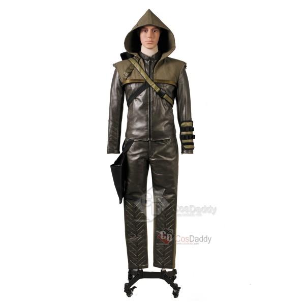 Arrow Season 3 Oliver Queen Green Arrow  Cosplay Costume