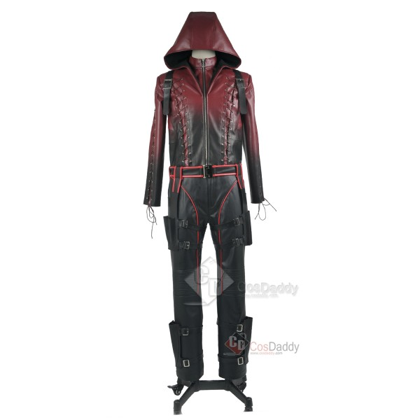 Arrow Season 3 Red Arrow Roy Harper Arsenal Red Cosplay Costume