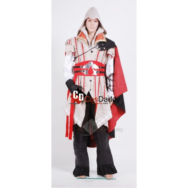 Assassin's Creed 2 II Ezio Outfit Cosplay Costume ...