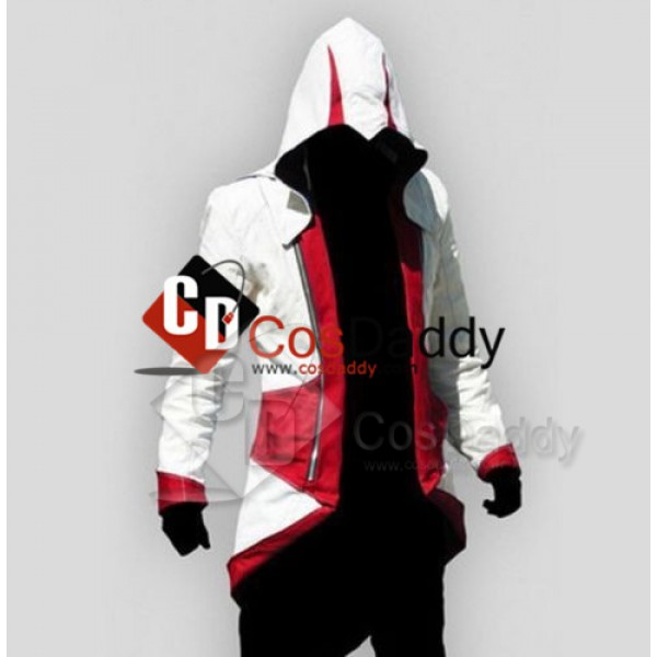 Assassin's Creed III Connor Kenway Jacket Hoodie C...