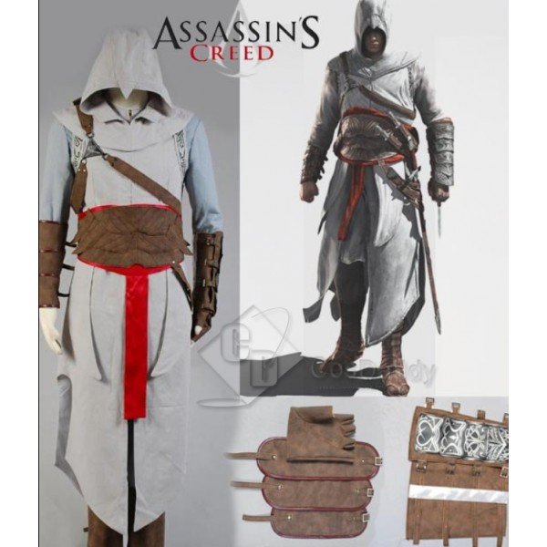 Assassin's Creed Revelation Altair Cosplay Full Outfit Cosplay Costume