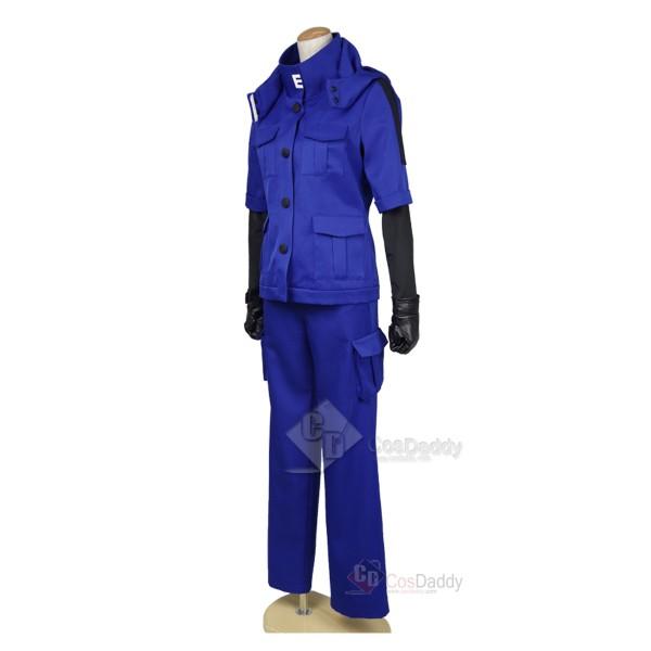 Assassination Classroom Ansatsu Kyoushitsu Shiota Nagisa Blue Battle Suit Uniform Cosplay Costume