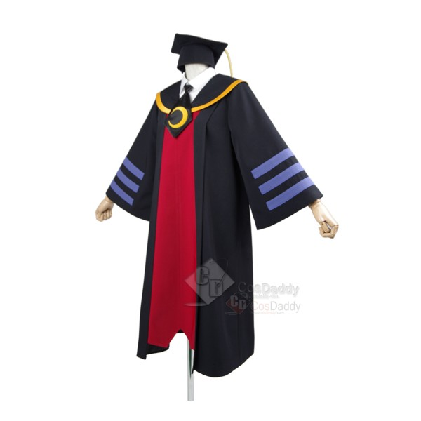 Assassination Classroom Koro-sensei Bachelor Gown Cosplay Costume