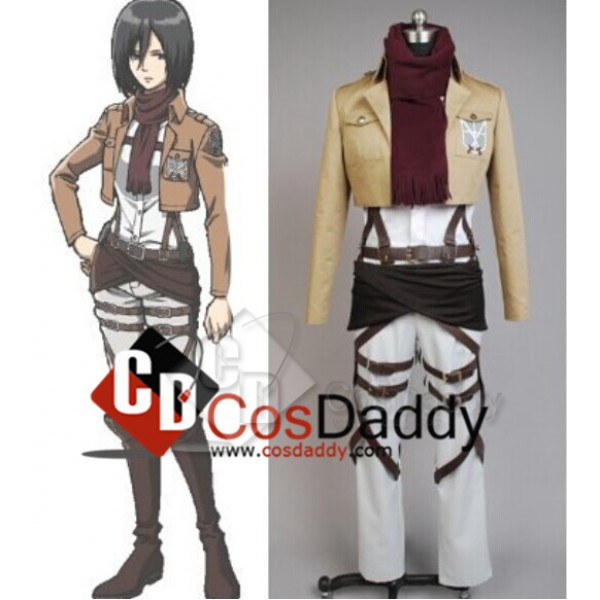 Attack on Titan Shingeki no Kyojin Mikasa Ackerman...