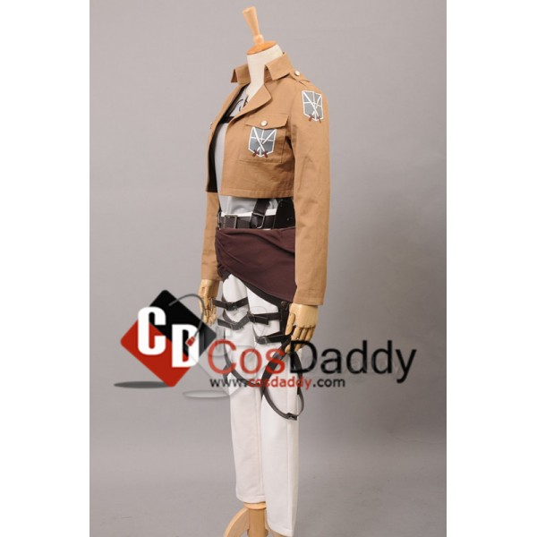 Attack on Titan Shingeki no Kyojin Training Corps Eren Jaeger Cosplay Costume