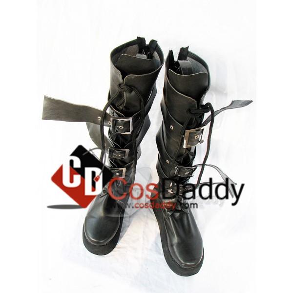 Audition Dance Battle Online Black Boots Shoes