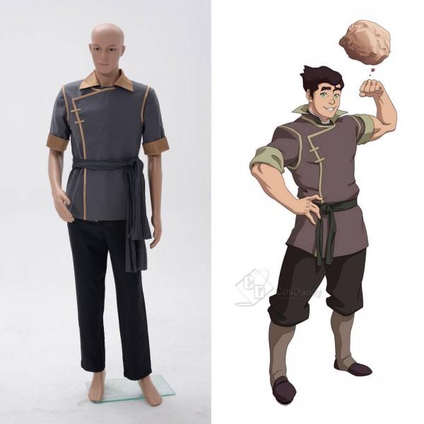 Avatar The Legend of Korra Bolin Full Set Cosplay Costume