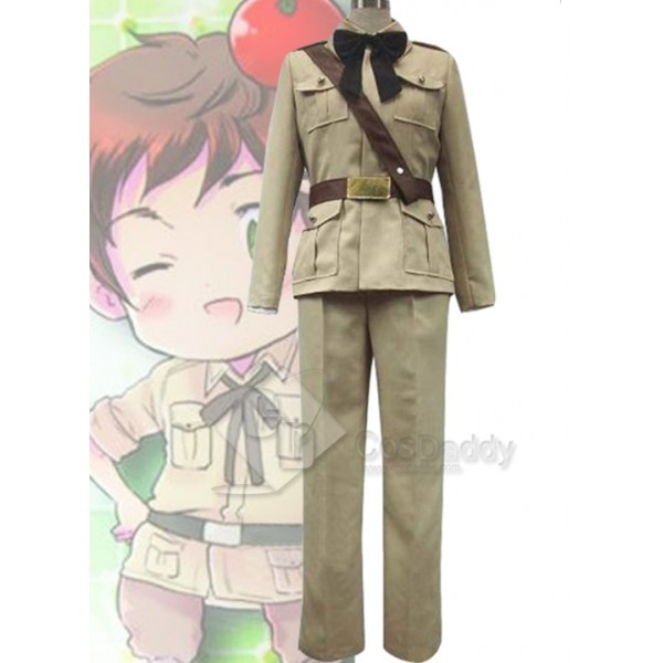 Axis Powers Hetalia Antonio Fernandez Carriedo Uniform Cosplay Costume