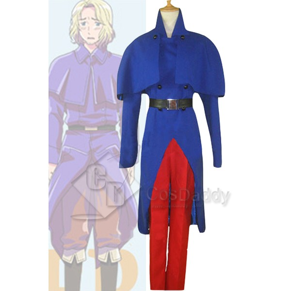 Axis Powers Hetalia Francis Bonnefoy Cosplay Costume