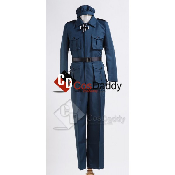 Axis Powers Hetalia Hungary Uniform Cosplay Costum...