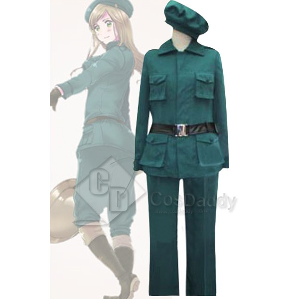 Axis Powers Hetalia Hungary Cosplay Uniform Cosplay Costume