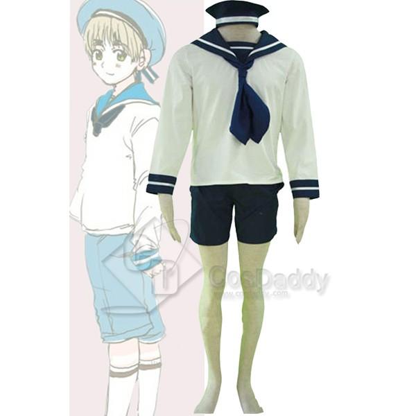 Axis Powers Hetalia Italy Sailor Suit Uniform Cosplay Costume