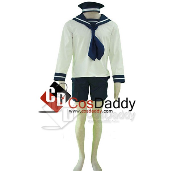 Axis Powers Hetalia Italy Sailor Suit Uniform Cosp...