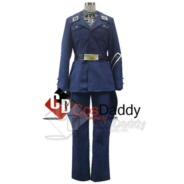 Axis Powers Hetalia Prussia Uniform Cosplay Costum...