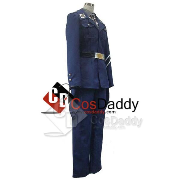Axis Powers Hetalia Prussia Uniform Cosplay Costume