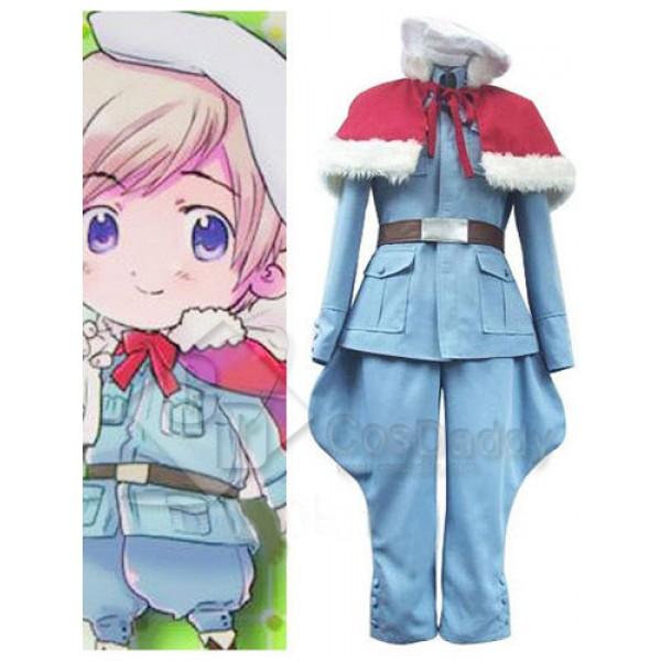 Axis Powers Hetalia Tino Vainaminen Cosplay Costume