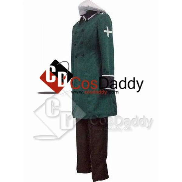 Axis Powers Hetalia Vash Zwingli Cosplay Costume