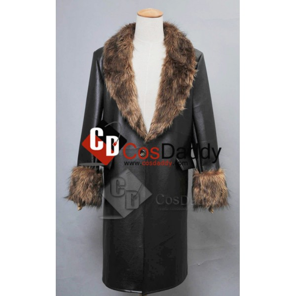 Batman:Arkham Origins The Penguin Pleather Fur Col...