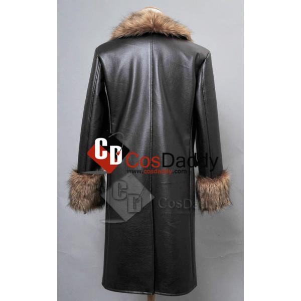 Batman:Arkham Origins The Penguin Pleather Fur Collar Cosplay Costume