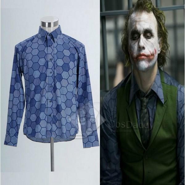 Batman: the Dark Knight Joker Hexagon T Shirt Cosplay Costume
