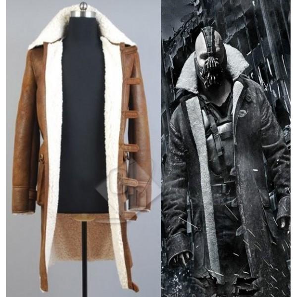 Batman:The Dark Knight Rises Bane Coat Jacket Cosplay Costume Version 2
