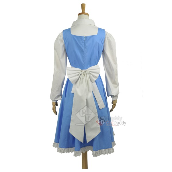 Beauty and the Beast the Maid Apron Dress Cosplay Costume