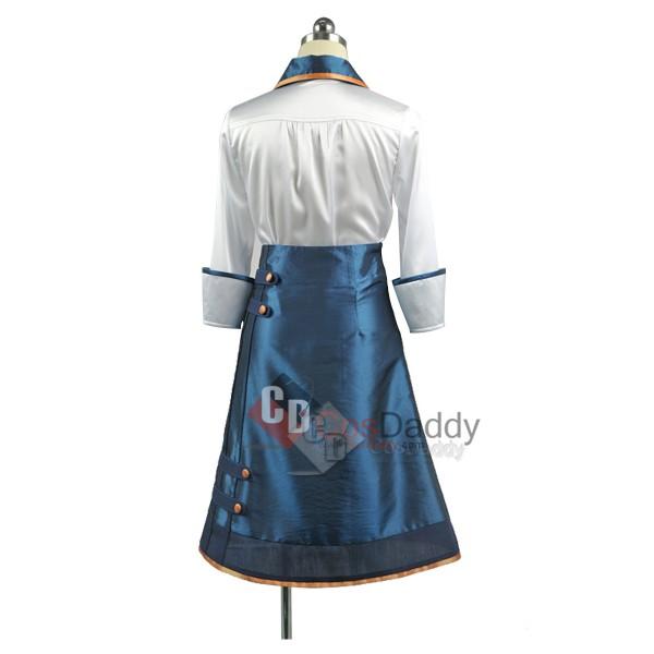 Bioshock Infinite Elizabeth Dress Coat Party Cosplay Costume