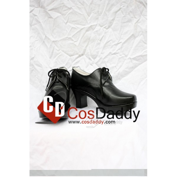 Black Butler Ciel Phantomhive Cosplay Shoes Black Version