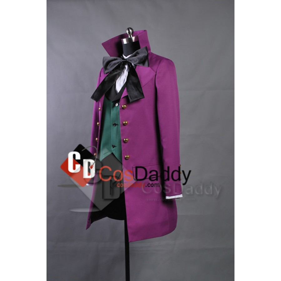 track Kuroshitsuji Black Butler II 2 Alois Trancy Cosplay costume Coat Outfit