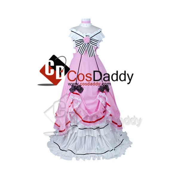 Black Butler Kuroshitsuji Ciel Cosplay Dress Cospl...